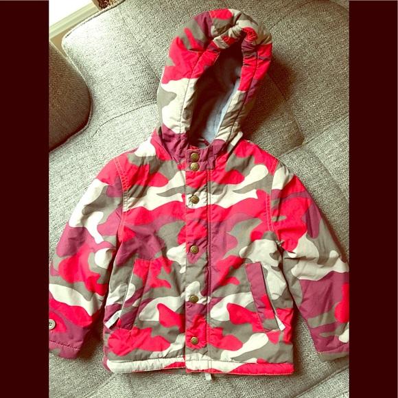 d4795ff18 Boys Mini Boden Camo Fleece Lined Winter Coat. M_5a5e700b36b9dedb895b375f